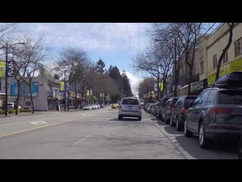 Life in Vancouver Canada - 41st Avenue - Driving in the City - West to East Scenery