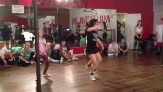 Hamilton Evans Choreography Jazz Funk Millennium 4/1/16
