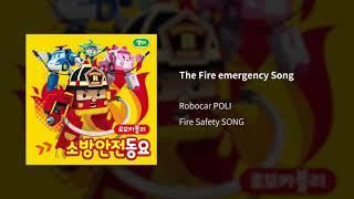 The Fire emergency Song | Fire Safety SONG for Kids| Robocar POLI