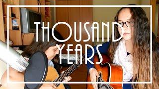 Thousand Years - Christina Perri (cover)