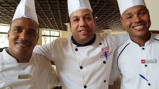 DELICIOUS FOOD !! AT RIU TIKIDA GARDEN MARRAKECH