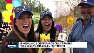 Se llevó a cabo la 1ra. Feria Venezuela-USA en Fort Myers