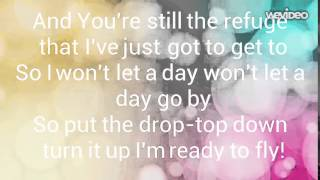 Jamie Grace - Beautiful Day lyric video