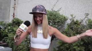 Adelen, entrevista en Primavera Pop 2014