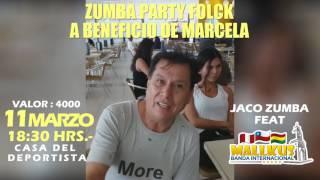 INVITACION DE KJARKAS A ZUMBA A BENEFICIO DE MARCELA