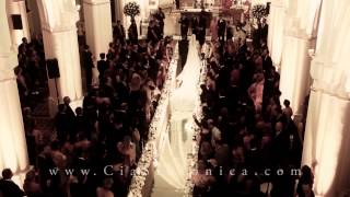 Entrada Noiva Priscila Hauer | Cia. Sinfônica | Foi Deus | Live Wedding