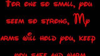 You'll Be In My Heart - Tarzan Lyrics HD
