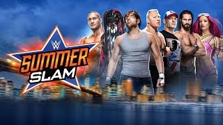 "WWE: SummerSlam 2016 Match Card ✩ Custom Theme Song ""Back To The NYC"" by CFO$"