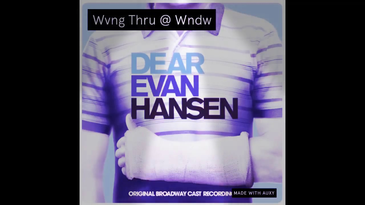 Dear Evan Hansen Reddit Tickets Boston