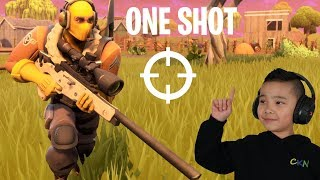 ONE SHOT!! Fortnite Gameplay With CKN Gaming