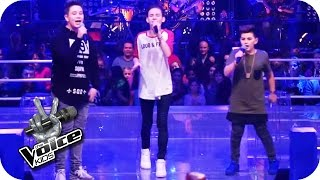 Justin Bieber - Love Yourself (Ridon, Robin, Merdan) | The Voice Kids 2016 | Battles | SAT.1