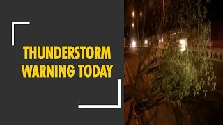 Thunderstorm warning today: Delhi, Noida, Gurugram schools shut, emergency services on alert