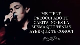 (LETRA) ¨TE PIDO¨ - Cornelio Vega Jr (Lyric Video) (2016)