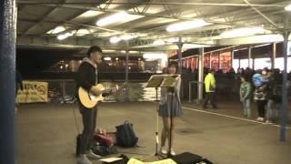 翻唱失戀太少 - Josy cover @Star Ferry Pier TST (07022015 )