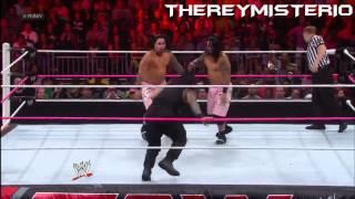 WWE - Top 10 Spears - Roman Reings HD •2015•