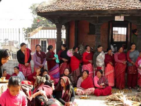 Tara Cremony, Kilanku Vihara Stupa, Kirtipur, Nepal