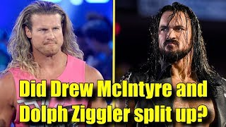 Real Reason Why Drew McIntyre and Dolph Ziggler SPLIT UP On RAW!