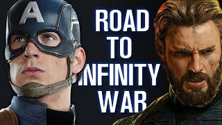 Captain America - Road to Infinity War