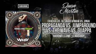 Jump Around vs. Guappa vs The Wave vs. Propaganda vs. Countdown (Hardwell Mashup)