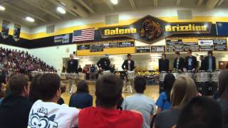 2014 Galena Senior Assembly - Drumline