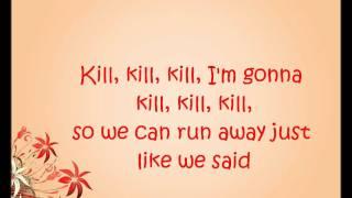 Natalia Kills - Kill My Boyfriend lyrics video
