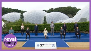 Duke and Duchess of Cambridge Join Queen and Charles and Camilla for G7 Reception
