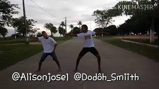 Mc Nego do Bordel - Me Solta que to no Baile da Gaiola (Coreografia) Alison e Dodôh