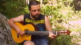 Wasted years (cover fingerstyle) - Iron Maiden// Gabriel Azócar