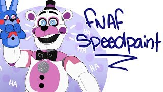 just having a laugh || fnaf sister location speedpaint ||