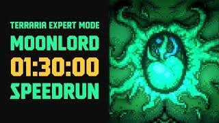 Terraria - [Expert Mode Speedrun] Moonlord in 90 minutes (no major glitches)