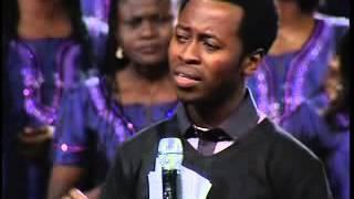 Victor Olayeni teaching new worship songs @ Night of Worship