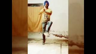 Bhangra #Kaur B song# teri wait#dance #bhangra on song #kaur b