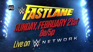 Presentación WWE Fastlane 2016
