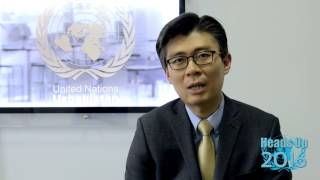 UNO Tashkent. HEADS UP 2016. JunhunCho - Country Manager of the World Bank in Uzbekistan