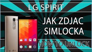 LG Spirit 4G LTE Simlock - How to unlock LG H440, H440y, H440n width=