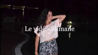 Le vide - Slimane (cover)