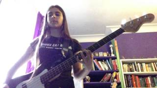 I Wanna Be Sedated - The Ramones - Bass Cover