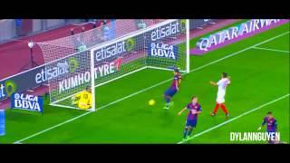 Lionel Messi - Trophies 2014/2015
