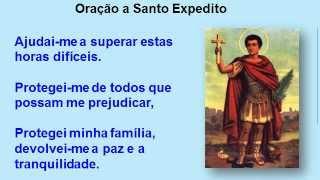 Oração a Santo Expedito - causas urgentes
