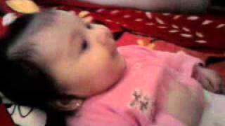 fetita noastra karina la 3 luni jum:)