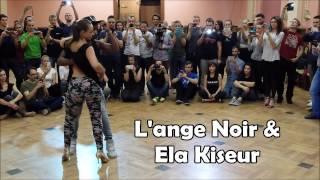 L'ange Noir & Ela Kiseur // Urban Kiz 3rd class demo// Sabaki 2016