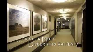 The all-suite Renker Pavilion at Eisenhower Medical Center