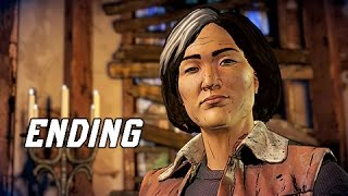 The Walking Dead A New Frontier Episode 3 Walkthrough Part 4 - ENDING (Episode 3 Let's Play)
