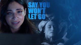 Sanvers || Say you won't let go
