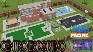 Centro Esportivo - The sims freeplay