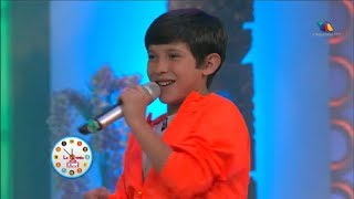 """Eddy Valenzuela - """"VIVIR MI VIDA"""" de Marc Anthony (La Hora de los Kids - Último Programa) COVER"""