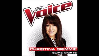 Christina Grimmie - Some Nights (Audio)