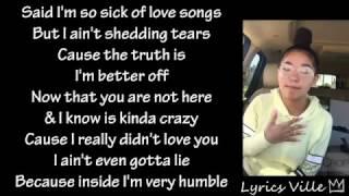 So Sick Challenge @sienarodarte (Lyrics)