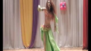 Попова Мария(Мариам) Belly Dance (Ahmed Bebo – Ala Remsh Oyonha)