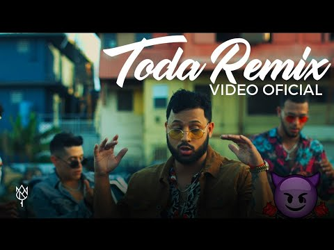 Toda Remix Ft Lyanno Rauw Alejandro Cazzu Lenny Tavarez de Alex Rose Letra y Video
